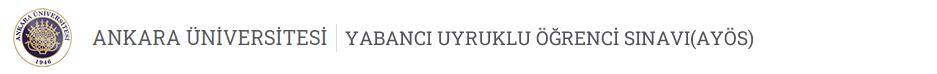 Yabancı Uyruklu Öğrenci Sınavı Logo